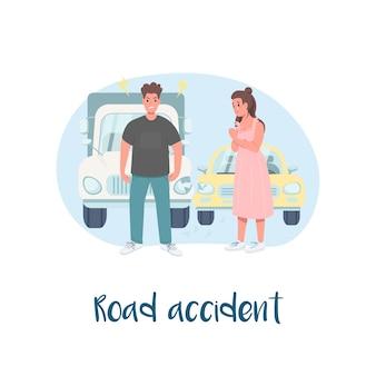 Banner da web 2d de colisão automática