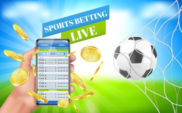 Banner de apostas esportivas serviço de aplicativos de apostas ao vivo