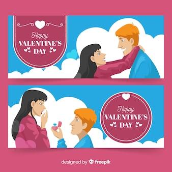 Banner de casal dos namorados
