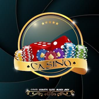 Banner de cassino de pôquer