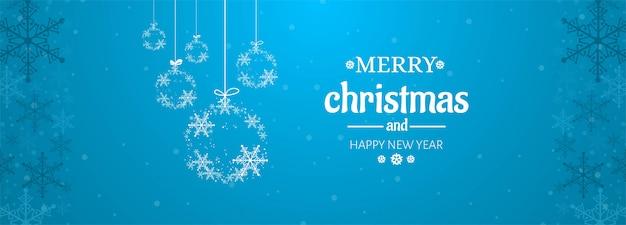 Banner de celebração do cartão de natal