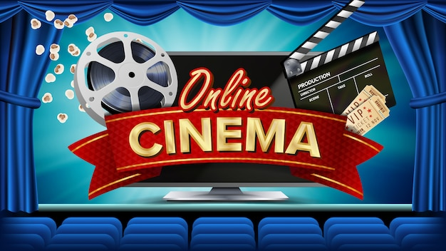 Banner de cinema on-line