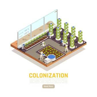 Banner de colonização do espaço