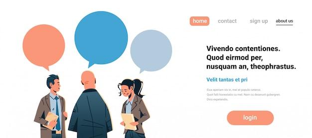 Banner de comunicação empresarial