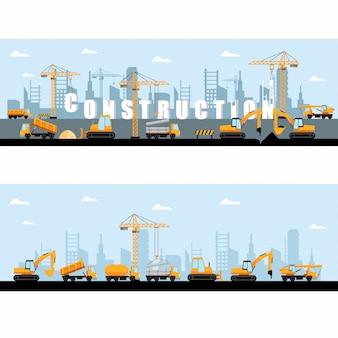 Banner de construção