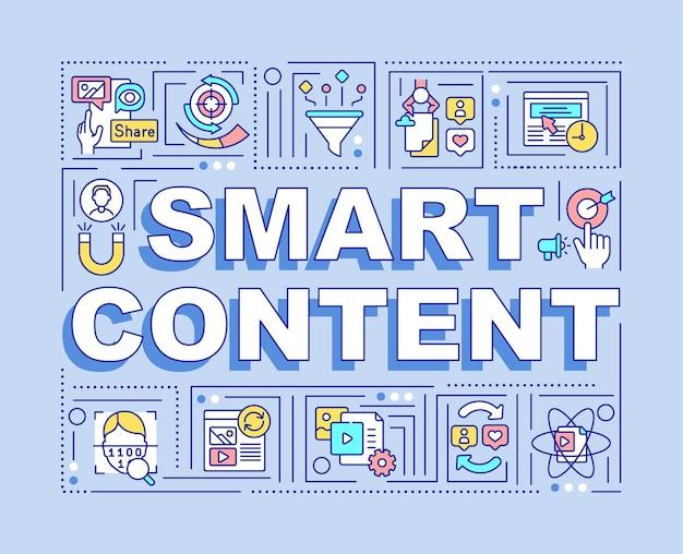 Banner de conteúdo inteligente