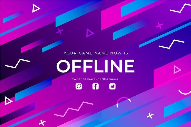 Banner de contração offline