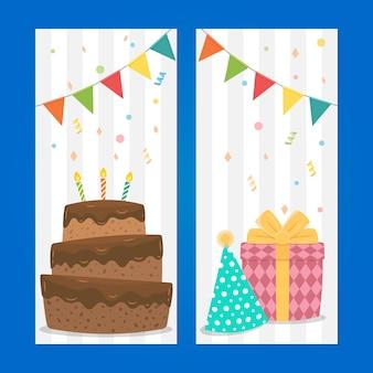 Banner de decoração de aniversário