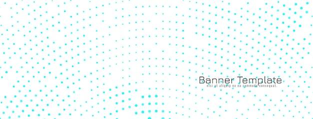Banner de design de meio-tom elegante abstrato