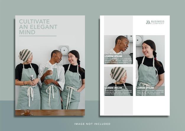Banner de design de modelo de moda para promoção de mídia social