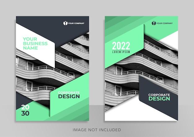 Banner de design de modelo de promoção de design de capa de livro corporativo para promoção de mídia social