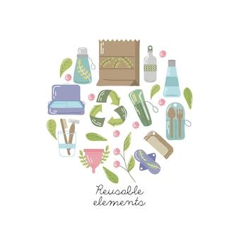 Banner de elementos reutilizáveis