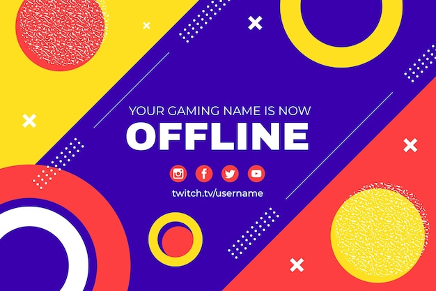 Banner de espasmos offline de memphis