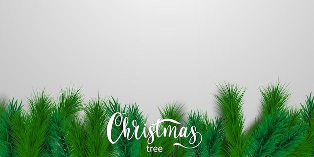 Banner de feliz natal e feliz ano novo