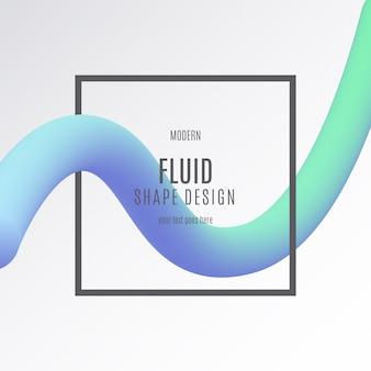 Banner de forma fluida