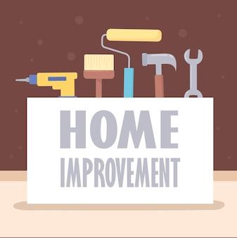 Banner de melhorias para a casa