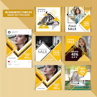 Banner de moda web para mídias sociais