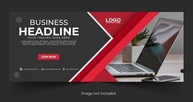 Banner de negócios corporativos