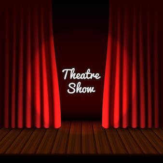 Banner de palco teatral