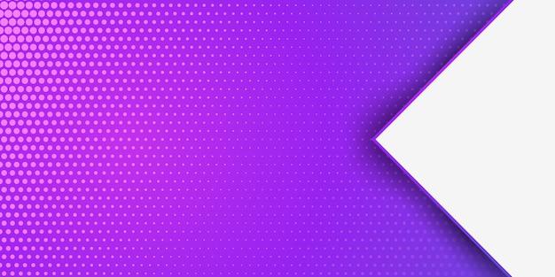Banner de pontos de meio-tom
