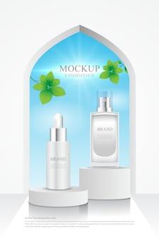 Banner de produtos cosméticos