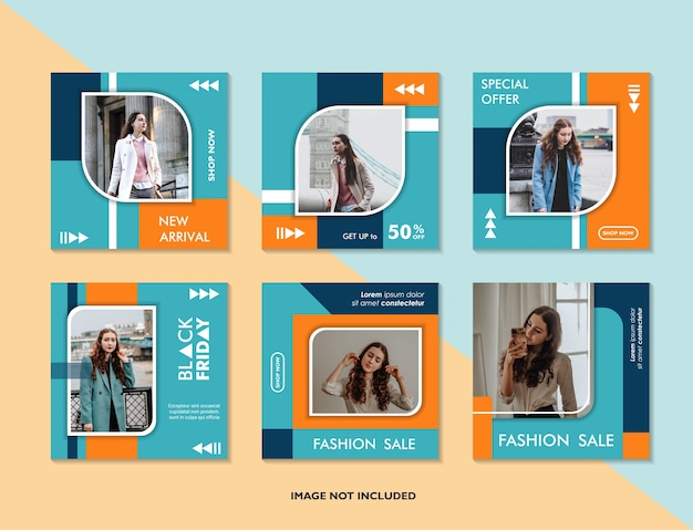 Banner de promoção da web moderno para aplicativos móveis de mídia social