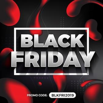 Banner de promoção sexta-feira negra