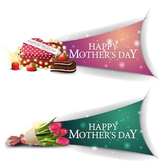Banner de saudações do dia da mãe clicável para o site