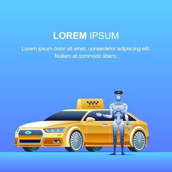 Banner de táxi inteligente