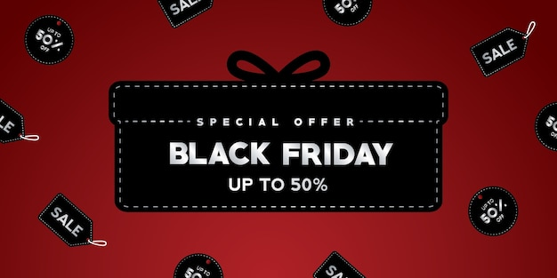 Banner de venda black friday, pôster black friday, fundo black friday