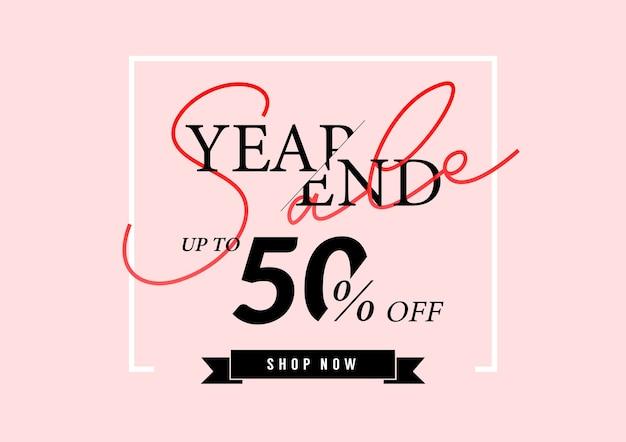 Banner de venda de final de ano