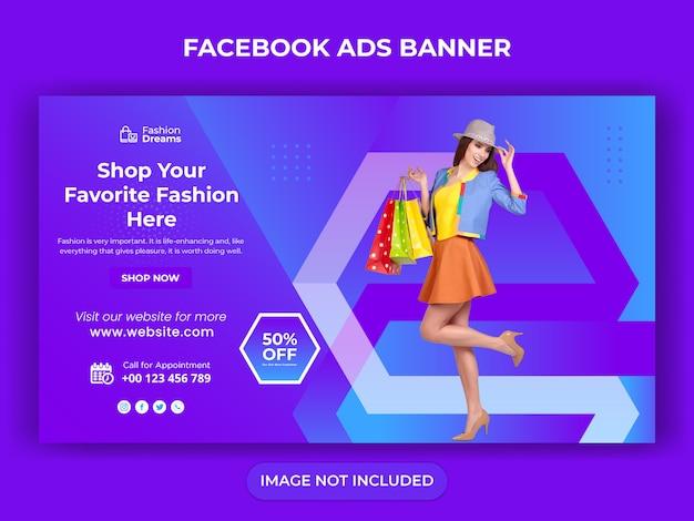 Banner de venda de mídia social para post na web e instagram