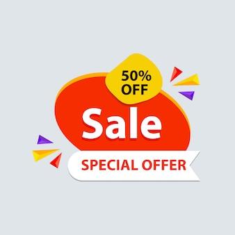 Banner de venda de oferta especial