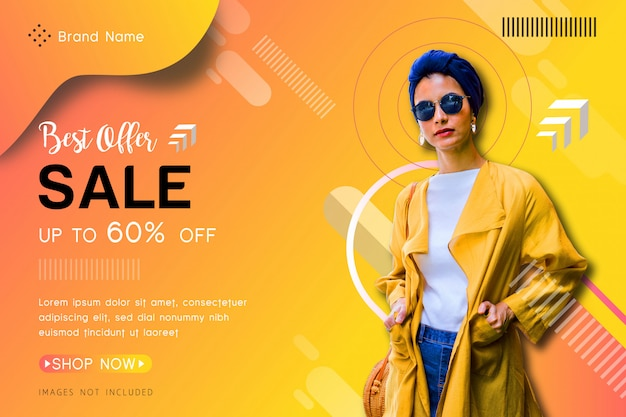 Banner de venda de oferta