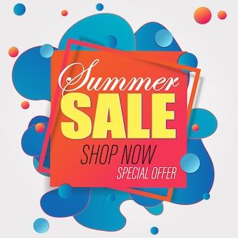Banner de venda de verão modelo de design de sexta-feira negra.
