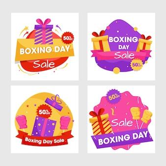 Banner de venda do boxing day