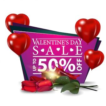 Banner de venda do dia dos namorados