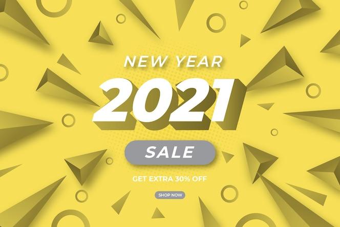 Banner de venda em cores cinza iluminantes e definitivas com oferta especial