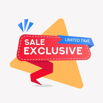 Banner de venda exclusiva
