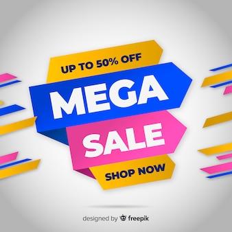 Banner de venda mega