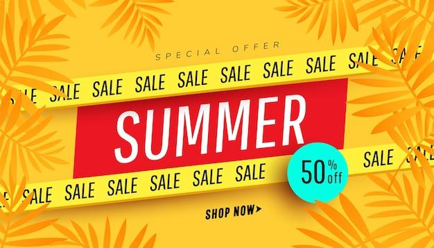 Banner de venda modelo de oferta especial banner de promoção