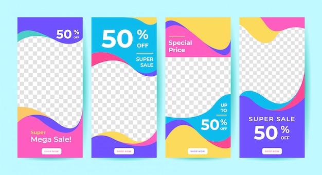 Banner de venda para post de mídia social