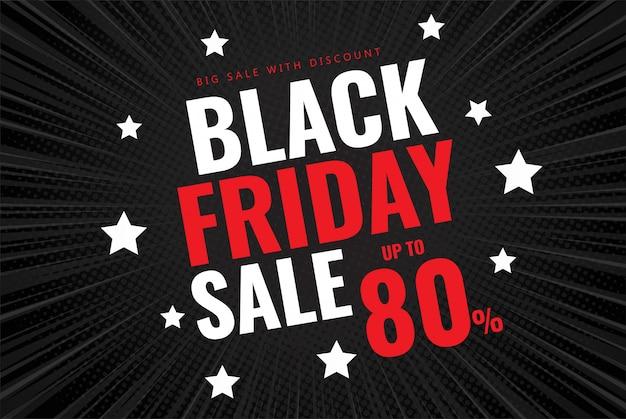 Banner de venda sexta-feira preta