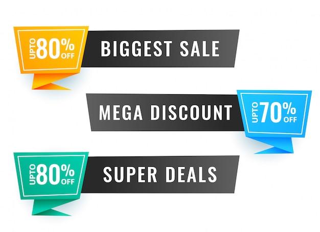 Banner de venda três com detalhes da oferta