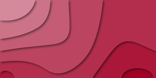 Banner de vetor para web. fundo de papel cortado de negócios.
