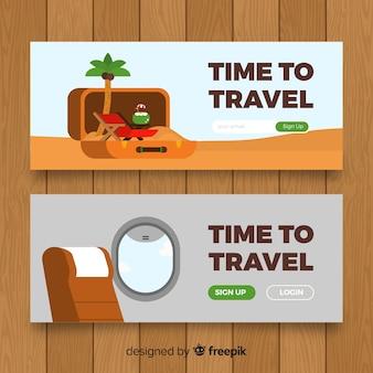 Banner de viagem