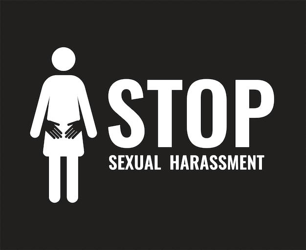 Banner de violência sexual