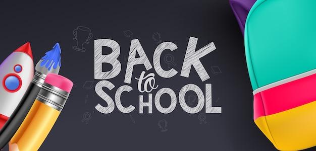 Banner de volta às aulas