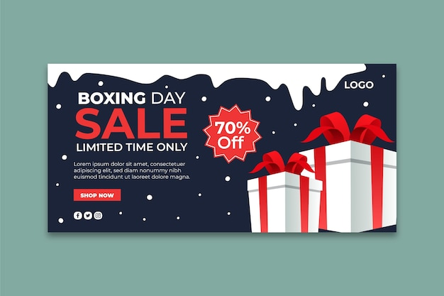 Banner do boxing day