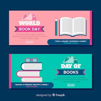 Banner do dia do livro do mundo